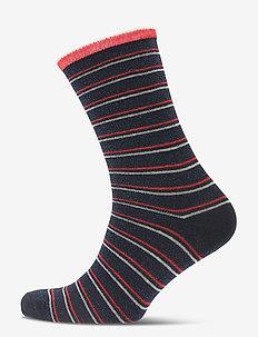 Dory Thin Stripe Sock - BLUE NIGHTS