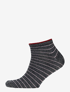 Dollie Stripe Sock - NAVY BLUE