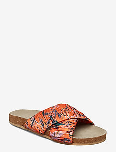 Sandy Sylvia Sandal - ORANGE