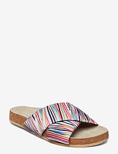 Sandy Stria Sandal - MULTI COL.