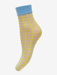 Dagmar Square Sock - YELLOW