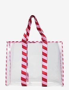 Matria Graphic Tote - torby na zakupy - pompeian red