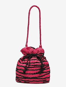 Zebra Tora Bag - bucket-vesker - chinese red