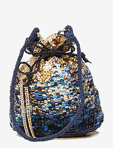 Glitzs Tora Bag - top-handle - classic blue
