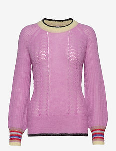 Solid Grace Sweater - ROSE