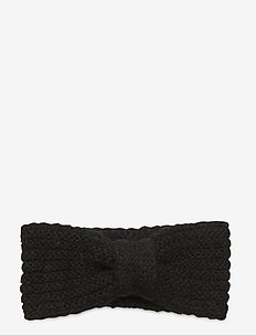 Lina Wool Mix Headband - luer - black