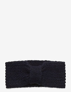 Lina Wool Mix Headband - luer - blue nights
