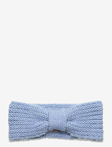 Lina Wool Mix Headband - luer - light blue