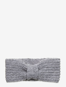 Lina Wool Mix Headband - luer - light grey melange