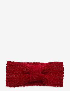 Lina Wool Mix Headband - luer - red