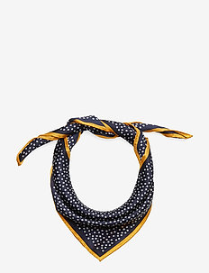 Dylan Dot Scarf - CLASSIC NAVY