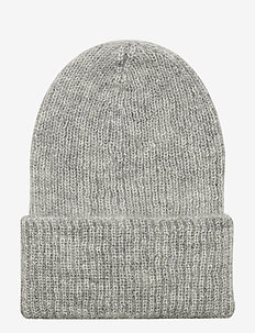 Jadia Beanie - LIGHT GREY MELANGE