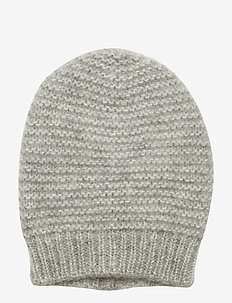 Jade Beanie - LIGHT GREY MELANGE