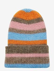 Jadia Lovely Stripes - kapelusze - light blue