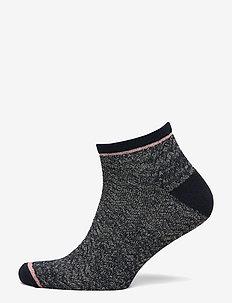 Dollie Zig Zag Sock - CLASSIC NAVY