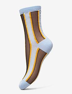 Dagmar Block Sock - LIGHT BLUE