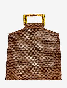 Glimmer Bag - top handle tasker - copper