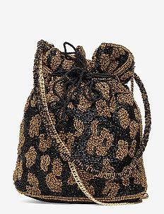 Lena Tora Bag - bucket-tasker - gold