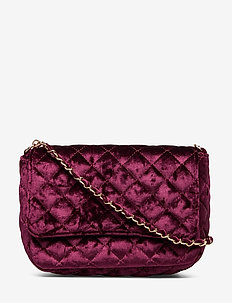 Velvet Bas bag - sacs à bandoulière - burgundy