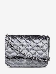 Velvet Bas bag - sacs à bandoulière - greyish dream