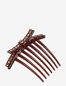 Lux Hair Clip - BROWNISH