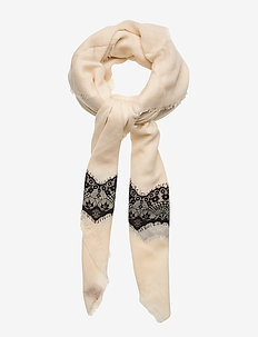 Millace Scarf - sjaals - off white