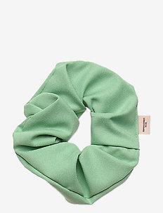 Solid Scrunchie Elastic - akcesoria do włosów - silt green