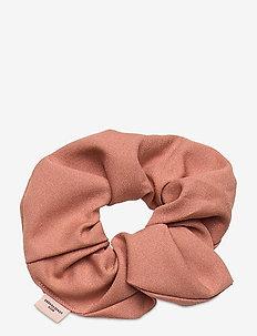 Solid Scrunchie Elastic - akcesoria do włosów - soft beige