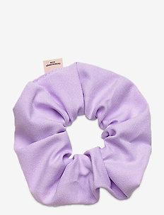 Solid Scrunchie Elastic - akcesoria do włosów - violet
