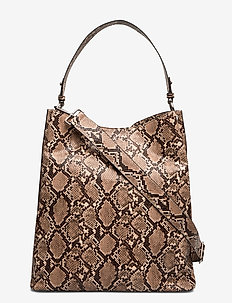 Snake Kayna Bag - top-handle - brownish