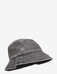 Denim Bucket Hat - emmer hoeden - india ink