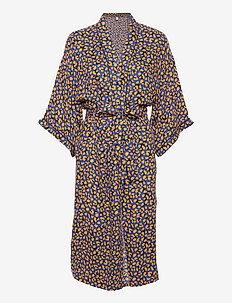 Linora Liberte Kimono - szlafroki - mazarine blue