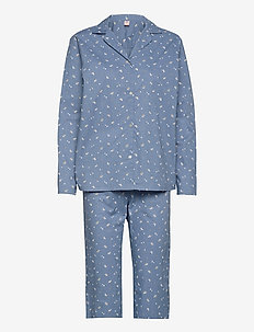 Tiny Flower Pyjamas Set - pyjamas - forever blue