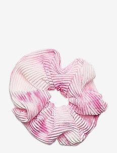 Tie Dye Scrunchie - akcesoria do włosów - pink