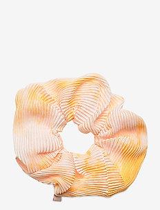 Tie Dye Scrunchie - akcesoria do włosów - yellow