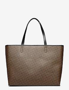 Besra Tonal Lotta Bag - shopperit - black