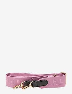 Becki Logo strap - taskestropper - pink lavender