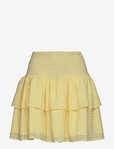 Lucent Eval Skirt - korte nederdele - pastel yellow