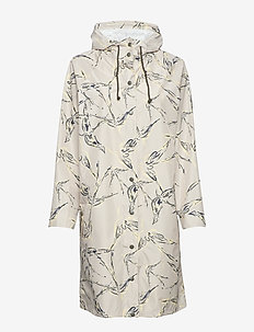 Skylark Magpie Raincoat - GREYISH DREAM