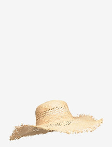 Truca Straw Hat - hats - nature