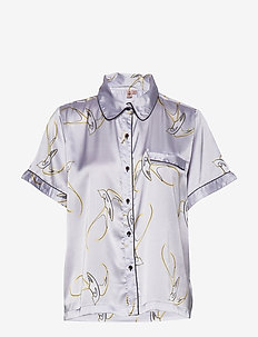 Sparrow Sarah Short Shirt - LAVENDER BLUE