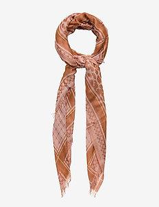Koel Coja Scarf - tørklæder - brownish