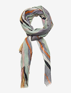 Tie Dye Organic Scarf - scarves - multi col.