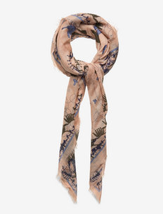 Heron Siw Scarf - sjaals - adobe rose