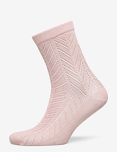 Twine Merlina Sock - sokker - adobe rose