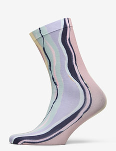 Tie Dye Corella Sock - socks - adobe rose