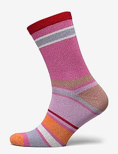 Rosella Dalea Sock - FUCHSIA PINK