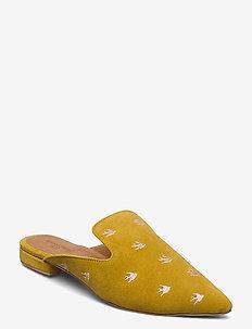 Sunbird Mule Pack - mules & slipins - pastel yellow