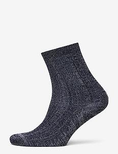 Glitter Drake Sock - sokker - medieval blue