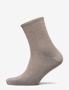 Dina Animal Sock - ADOBE ROSE